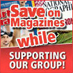 Save on Magazines and support WARM